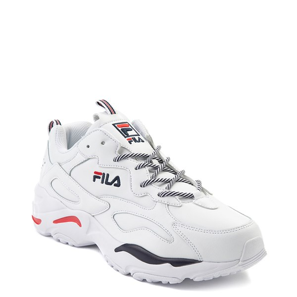 alternate view Mens Fila Ray Tracer Athletic Shoe - WhiteALT1