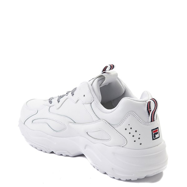 alternate view Mens Fila Ray Tracer Athletic Shoe - WhiteALT2