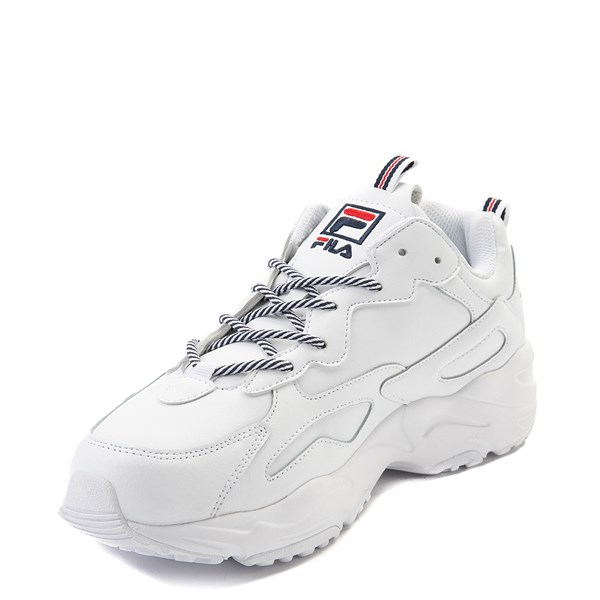 alternate view Mens Fila Ray Tracer Athletic Shoe - WhiteALT3
