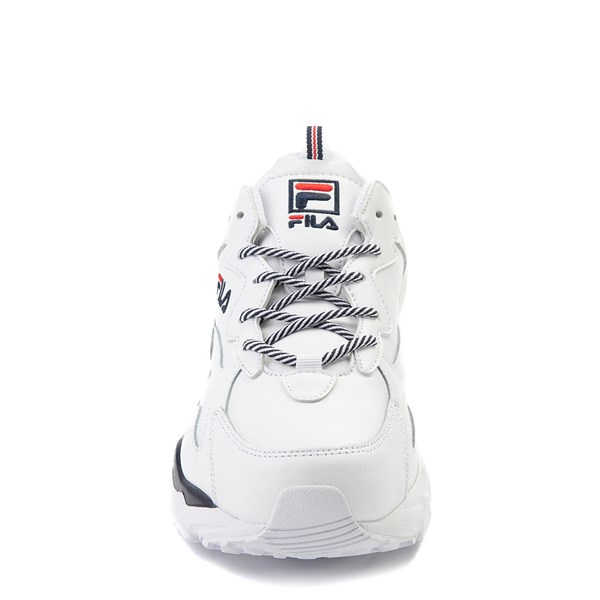 alternate view Mens Fila Ray Tracer Athletic Shoe - WhiteALT4