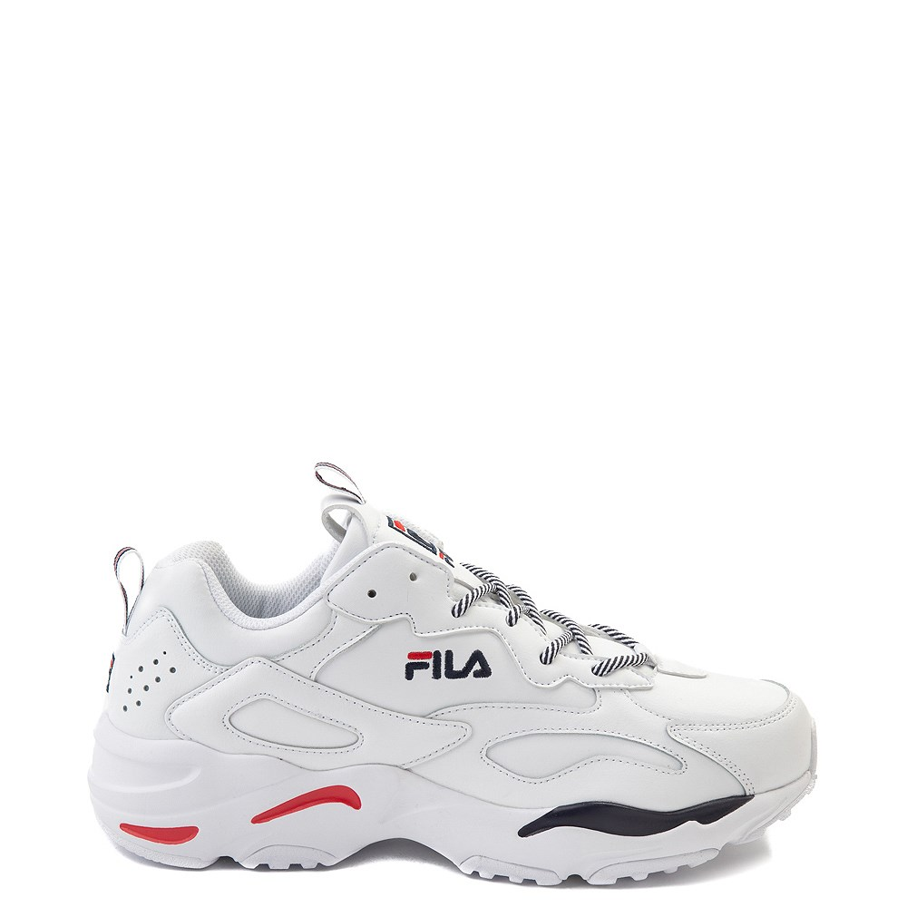 Mens Fila Ray Tracer Athletic Shoe - White