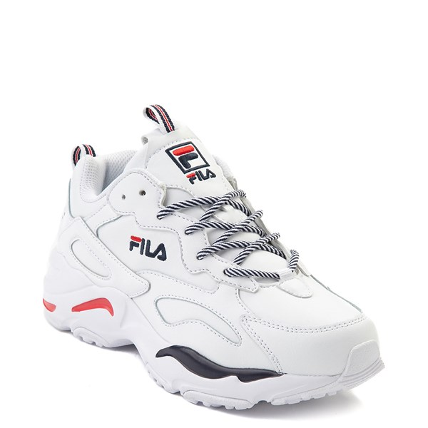 alternate view Womens Fila Ray Tracer Athletic Shoe - WhiteALT1