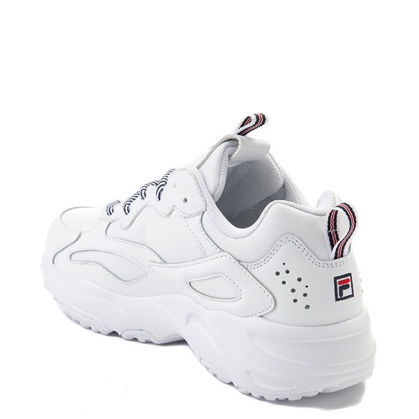 alternate view Womens Fila Ray Tracer Athletic Shoe - WhiteALT2