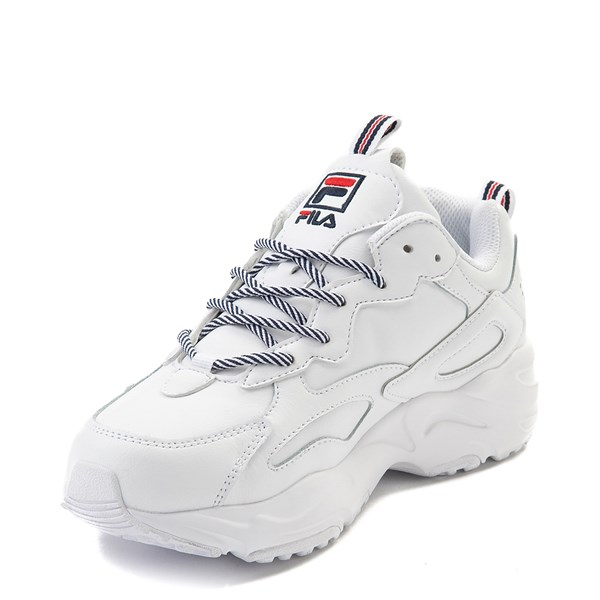alternate view Womens Fila Ray Tracer Athletic Shoe - WhiteALT3