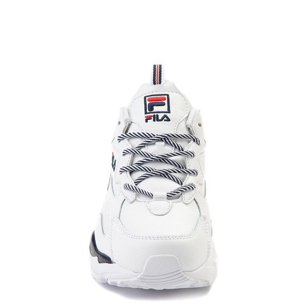 alternate view Womens Fila Ray Tracer Athletic Shoe - WhiteALT4