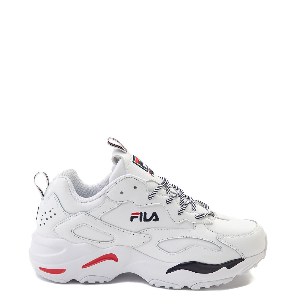 Womens Fila Ray Tracer Athletic Shoe - White