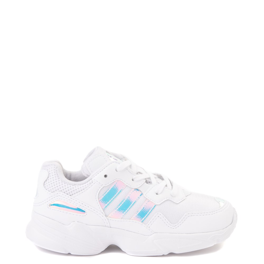 adidas Yung 96 Athletic Shoe - Little Kid - White / Lenticular