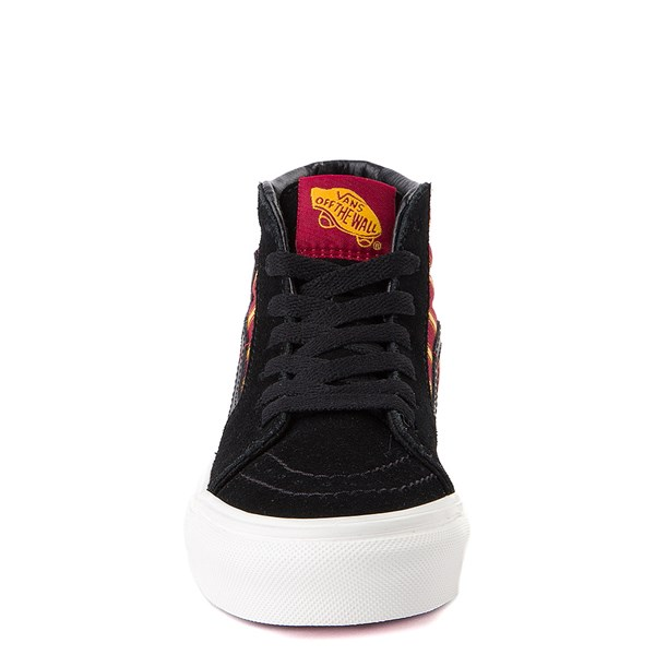 alternate view Vans x Harry Potter Sk8 Hi Gryffindor Skate Shoe - Little Kid / Big Kid - Black / Scarlet / GoldALT4