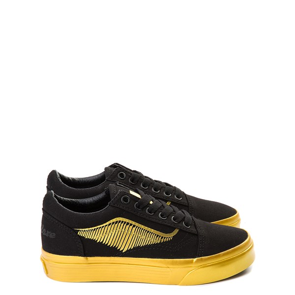 Vans x Harry Potter Old Skool Golden Snitch Skate Shoe - Little Kid / Big Kid - Black / Gold