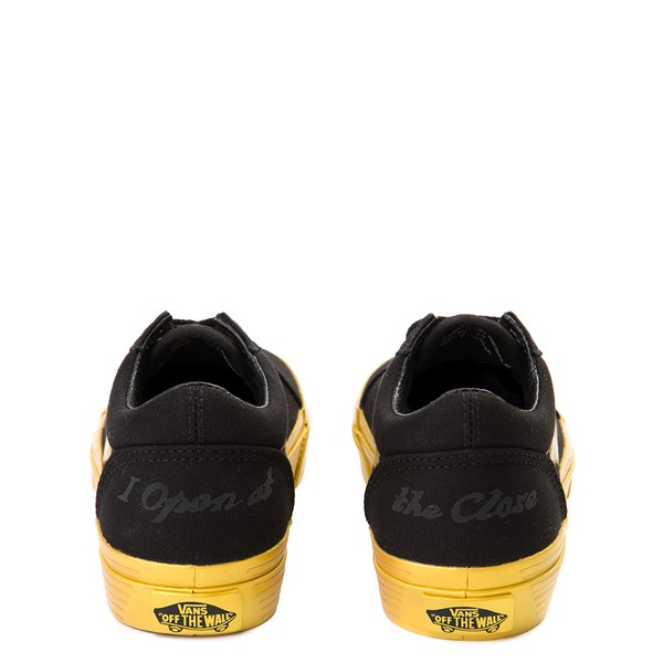 alternate view Vans x Harry Potter Old Skool Golden Snitch Skate Shoe - Little Kid / Big Kid - Black / GoldALT6