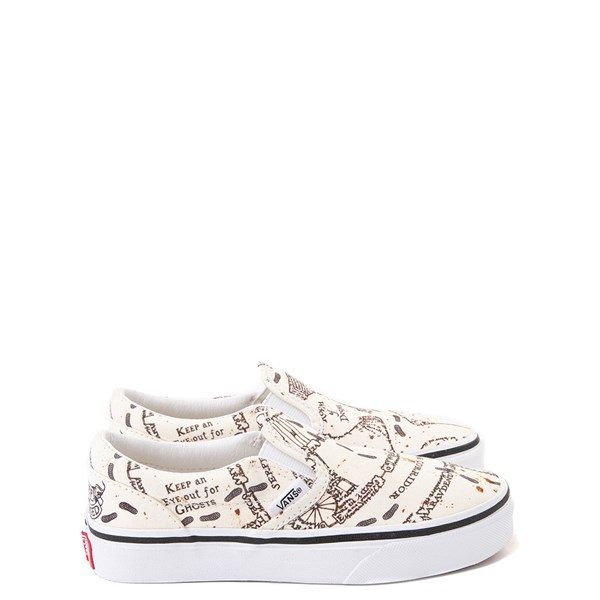 Vans x Harry Potter Slip On Marauder's Map Skate Shoe - Little Kid / Big Kid