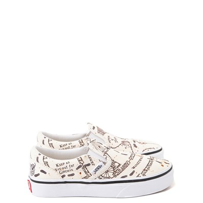 Main view of Vans x Harry Potter Slip On Marauder's Map Skate Shoe - Little Kid / Big Kid - Multi