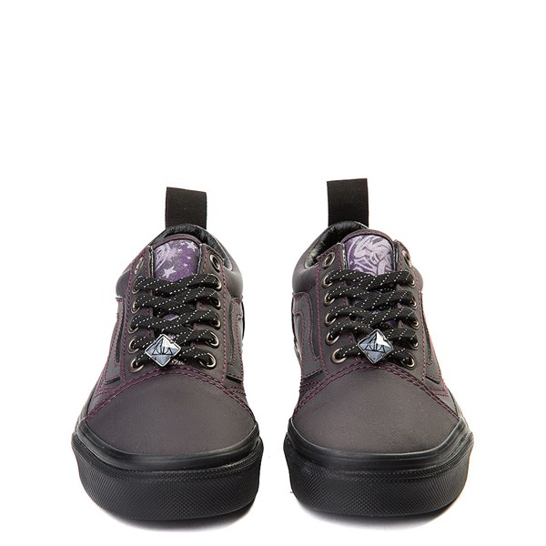 alternate view Vans x Harry Potter Old Skool Deathly Hallows Skate Shoe - Little Kid / Big Kid - BlackALT4