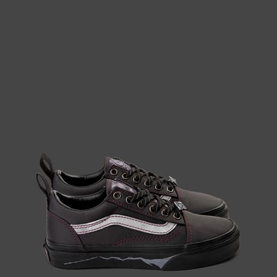 Alternate view of Vans x Harry Potter Old Skool Deathly Hallows Skate Shoe - Little Kid / Big Kid - Black