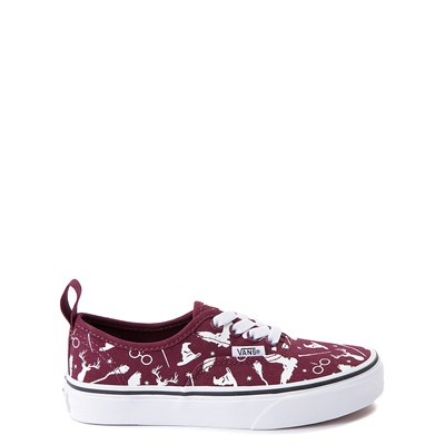 Main view of Vans x Harry Potter Authentic Icons Skate Shoe - Little Kid / Big Kid - Burgundy