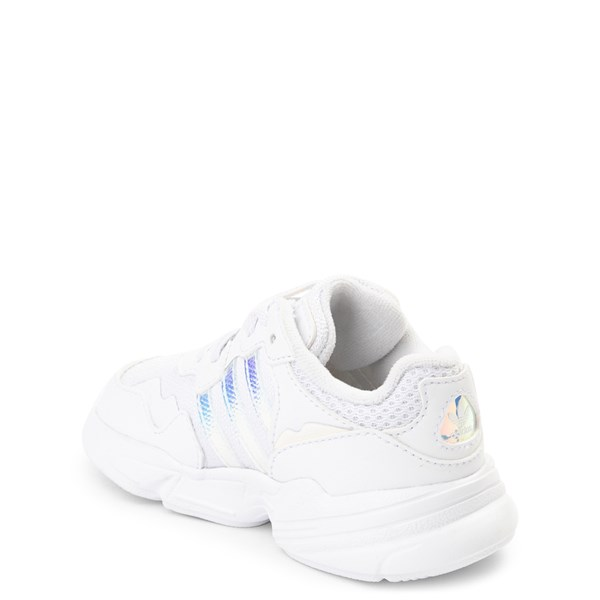alternate view adidas Yung 96 Athletic Shoe - Baby / Toddler - WhiteALT2