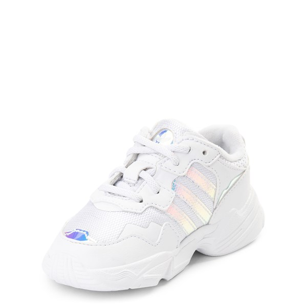 alternate view adidas Yung 96 Athletic Shoe - Baby / Toddler - WhiteALT3