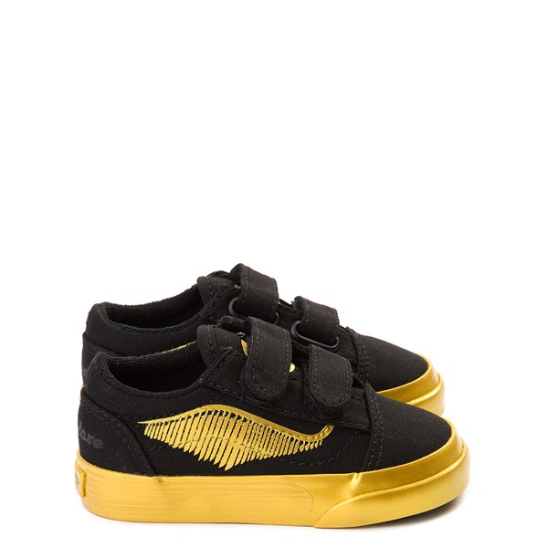 Vans x Harry Potter Old Skool V Golden Snitch Skate Shoe - Baby / Toddler - Black