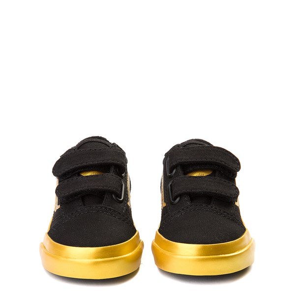 alternate view Vans x Harry Potter Old Skool V Golden Snitch Skate Shoe - Baby / Toddler - BlackALT4