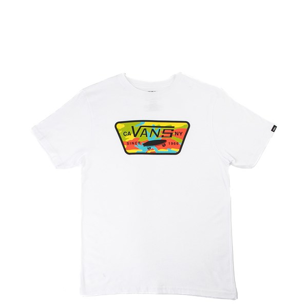 Vans Full Patch Camo Pop Tee - Little Kid