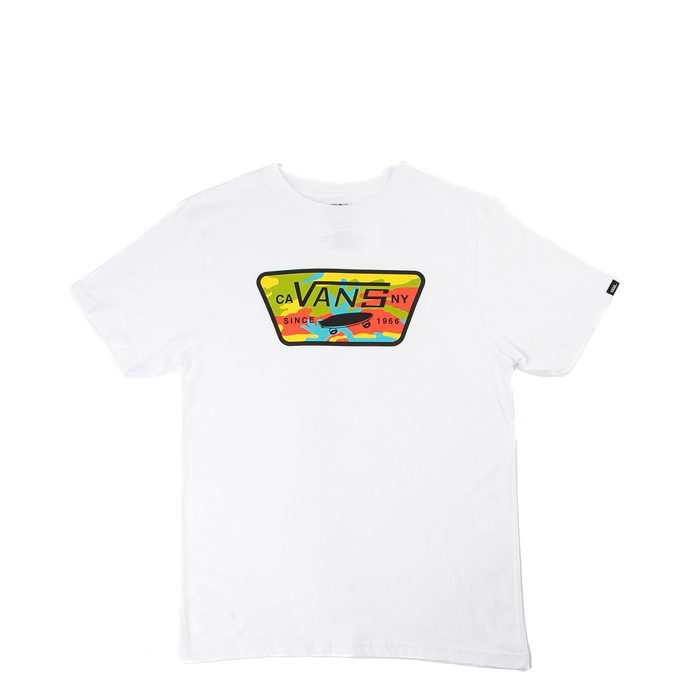 Youth Vans Full Patch Camo Pop Tee