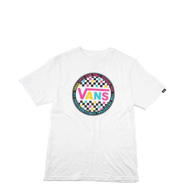 Default view of Vans Retro Pop Tee - Girls Little Kid - White