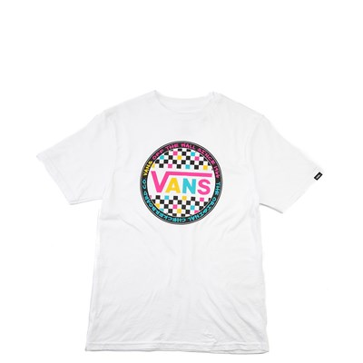 Main view of Vans Retro Pop Tee - Girls Little Kid / Big Kid - White
