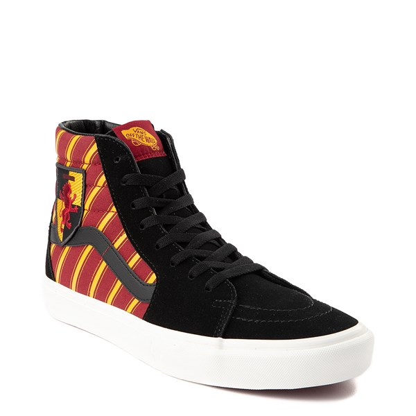 alternate view Vans x Harry Potter Sk8 Hi Gryffindor Skate Shoe - Black / Scarlet / GoldALT1