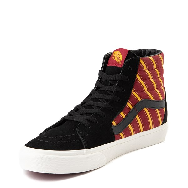 alternate view Vans x Harry Potter Sk8 Hi Gryffindor Skate Shoe - Black / Scarlet / GoldALT3