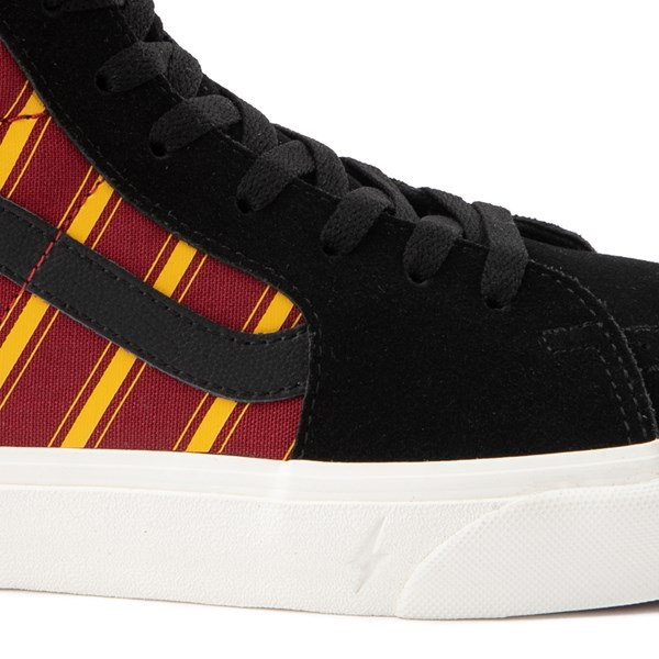alternate view Vans x Harry Potter Sk8 Hi Gryffindor Skate Shoe - Black / Scarlet / GoldALT7
