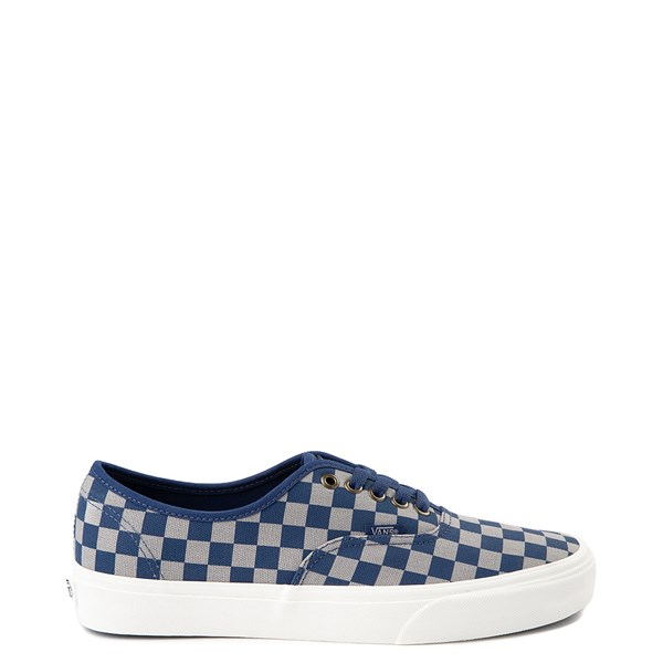Default view of Vans x Harry Potter Authentic Ravenclaw Checkerboard Skate Shoe - Blue / Gray