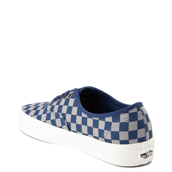 alternate view Vans x Harry Potter Authentic Ravenclaw Checkerboard Skate Shoe - Blue / GrayALT2