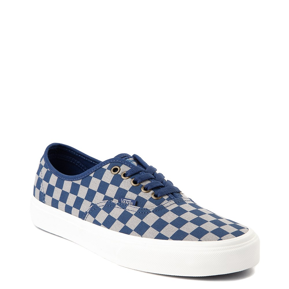 Vans x Harry Potter Authentic Ravenclaw Checkerboard Skate Shoe Blue Gray
