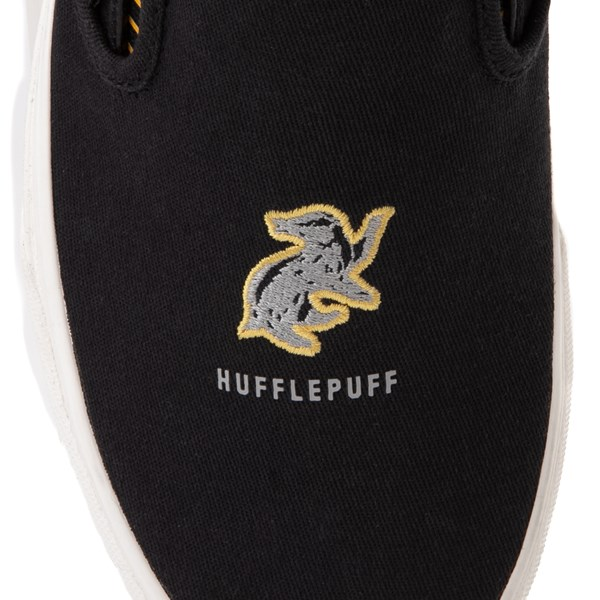 alternate view Vans x Harry Potter Slip On Hufflepuff Skate Shoe - Black / YellowALT6