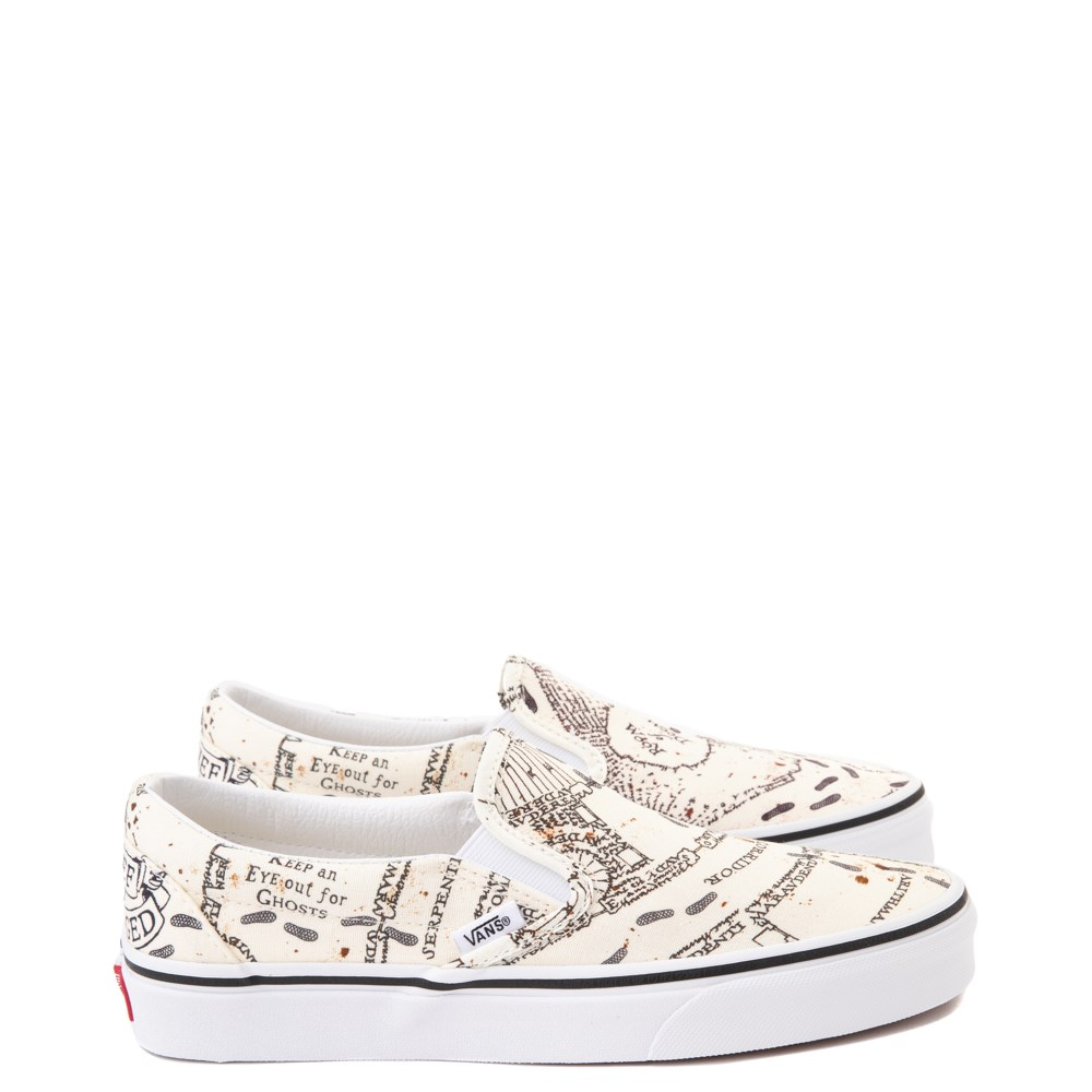 Vans x Harry Potter Slip On Marauder's Map Skate Shoe