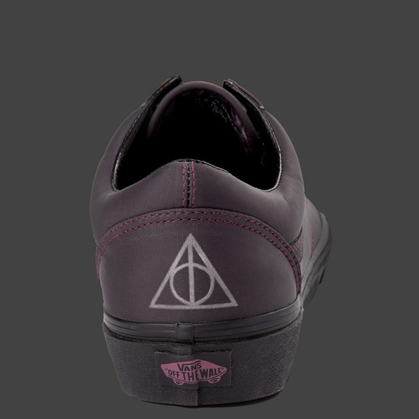 alternate view Vans x Harry Potter Old Skool Deathly Hallows Skate Shoe - BlackALT11