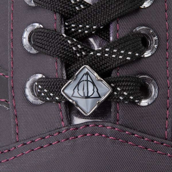 alternate view Vans x Harry Potter Old Skool Deathly Hallows Skate Shoe - BlackALT7