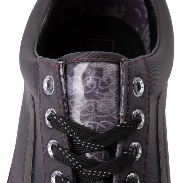 alternate view Vans x Harry Potter Old Skool Deathly Hallows Skate Shoe - BlackALT8