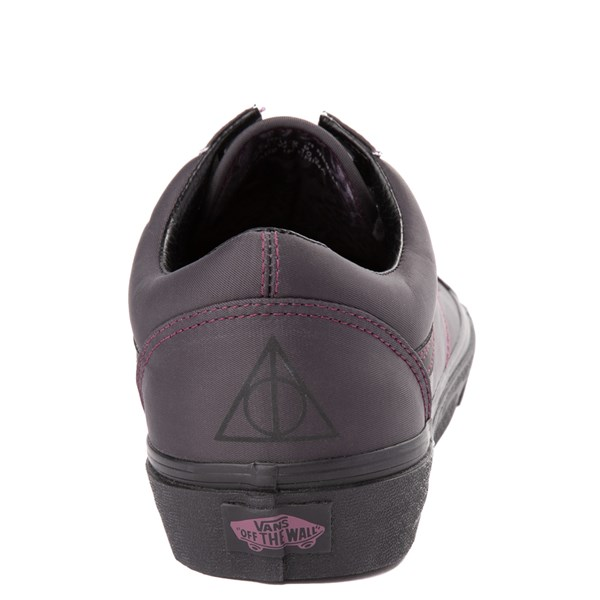 alternate view Vans x Harry Potter Old Skool Deathly Hallows Skate Shoe - BlackALT9