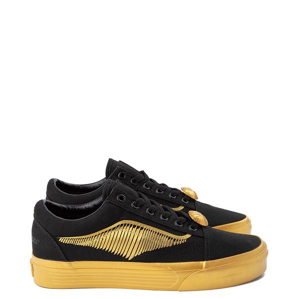 Vans x Harry Potter Old Skool Golden Snitch Skate Shoe - Black