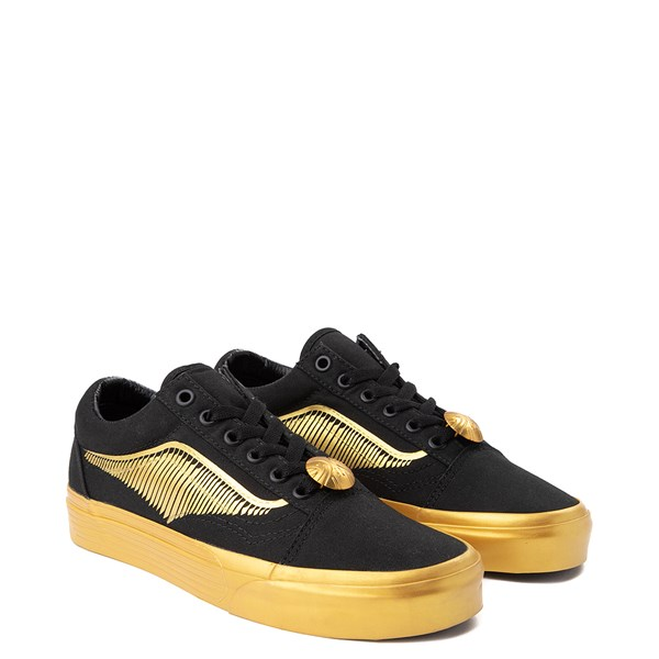 alternate view Vans x Harry Potter Old Skool Golden Snitch Skate Shoe - BlackALT1