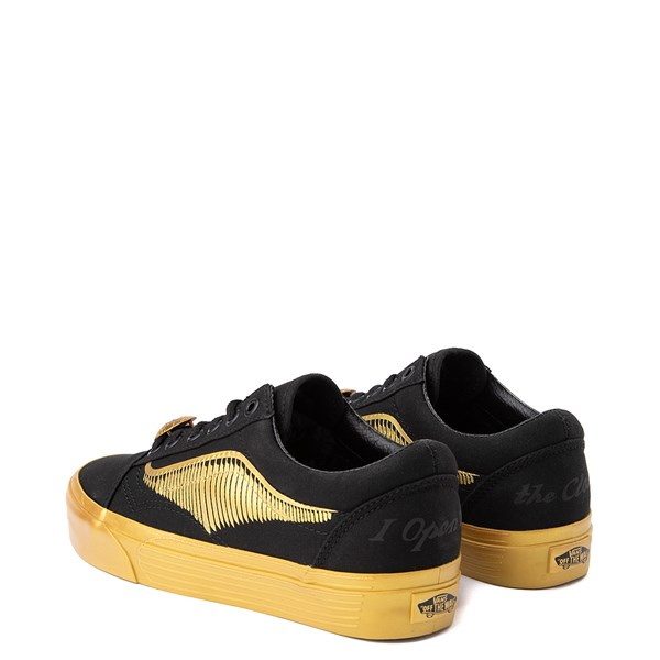 alternate view Vans x Harry Potter Old Skool Golden Snitch Skate Shoe - BlackALT2