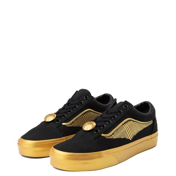 alternate view Vans x Harry Potter Old Skool Golden Snitch Skate Shoe - BlackALT3