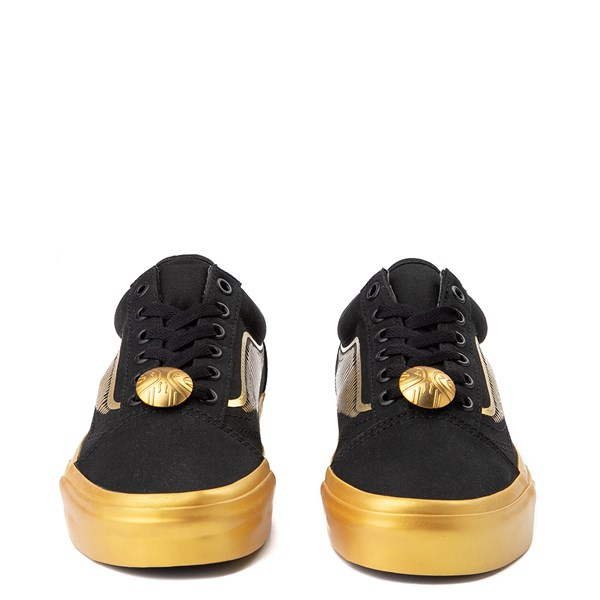 alternate view Vans x Harry Potter Old Skool Golden Snitch Skate Shoe - BlackALT4