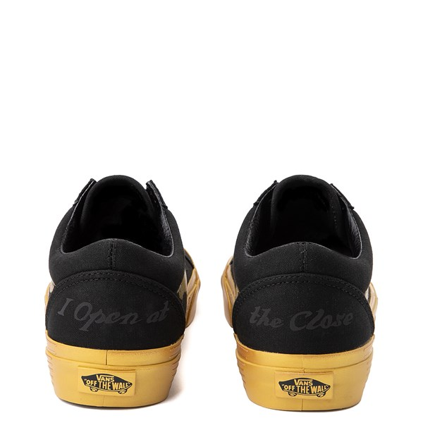 alternate view Vans x Harry Potter Old Skool Golden Snitch Skate Shoe - BlackALT6