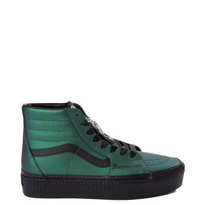 Main view of Vans x Harry Potter Sk8 Hi Dark Arts Platform Skate Shoe