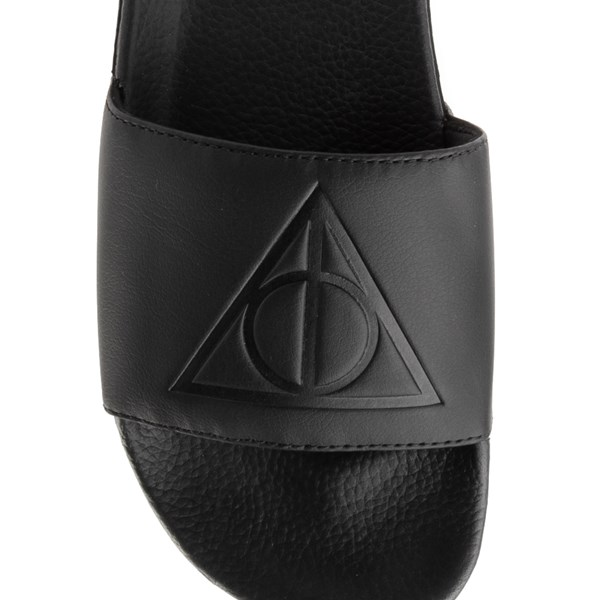 alternate view Mens Vans x Harry Potter Slide On Deathly Hallows Checkerboard SandalALT7