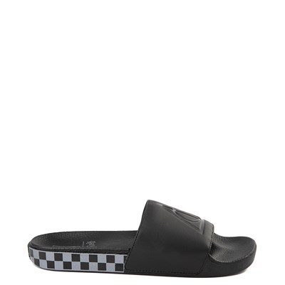 Main view of Mens Vans x Harry Potter Slide On Deathly Hallows Checkerboard Sandal