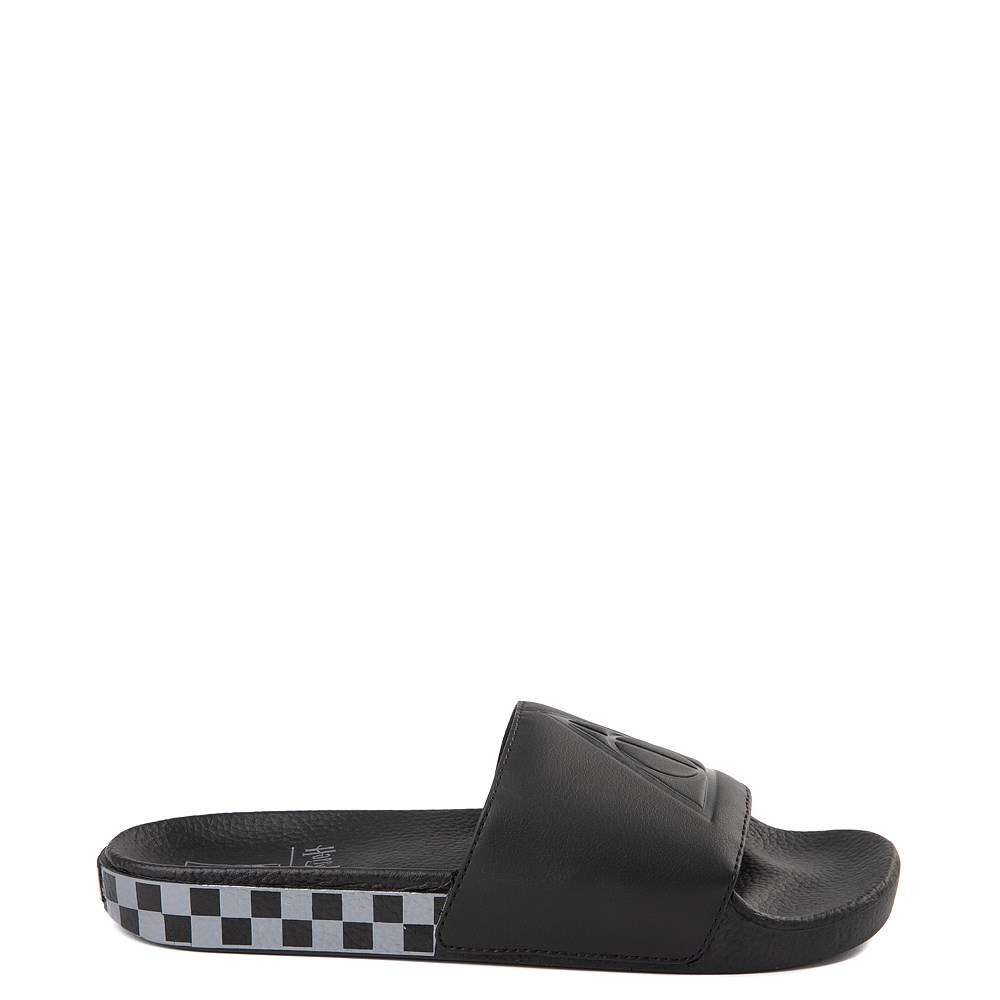 Mens Vans x Harry Potter Slide On Deathly Hallows Checkerboard Sandal