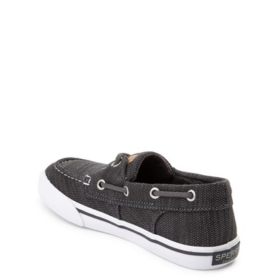 Alternate view of Sperry Top-Sider Bahama Boat Shoe - Little Kid / Big Kid - Gunmetal Gray